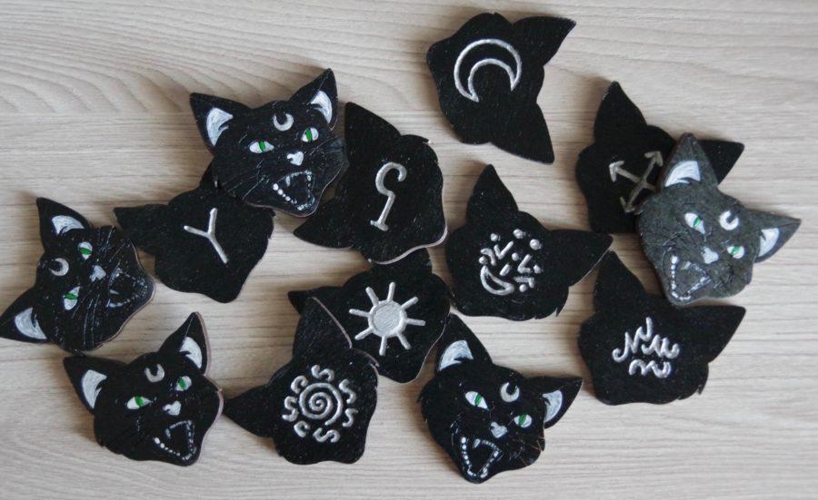 руны черный кот - йольский кот