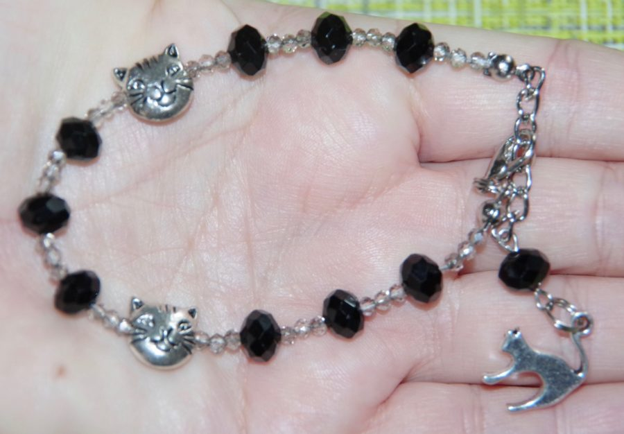 Четки-браслет Черный Кот