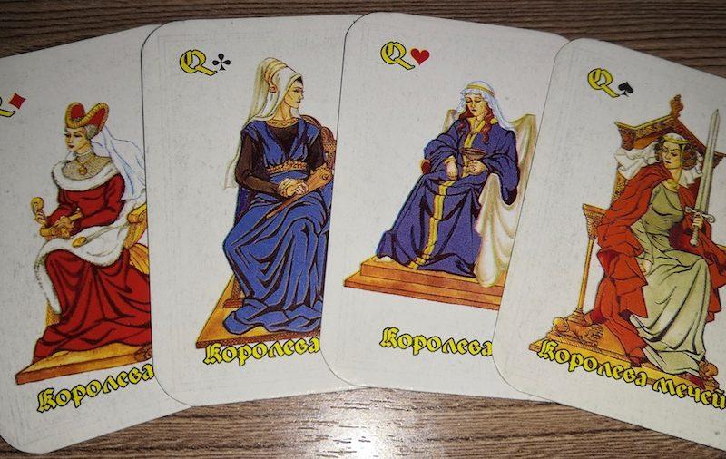 Четыре королевы таро