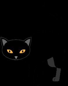 черный кот удачи